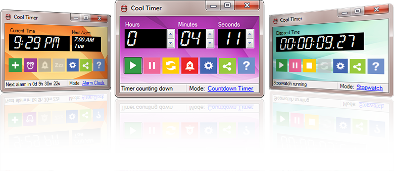 Handy timer solution with many cool features. Great for teachers.